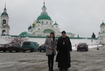 Анна Маркевич и Владимир Климзо